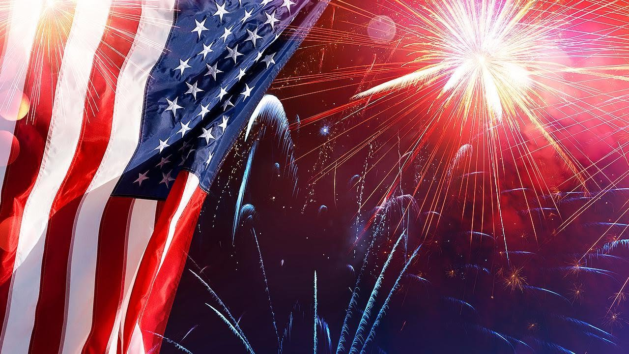 US celebrates Independence Day with fireworks, hot dog eating contest