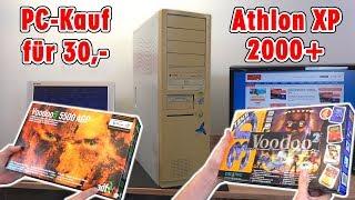AMD Athlon XP 2000+ BigTower Selbstumbau aus 2004 - Basis für Voodoo Grafikbeschleuniger
