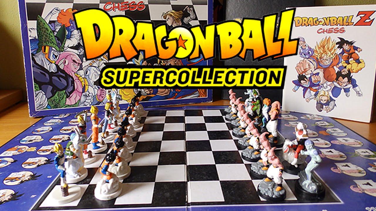 El Ajedrez De Dragon Ball Dragon Ball Super Collection Youtube