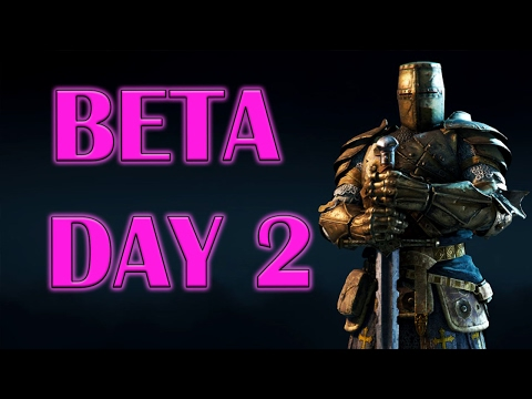 For Honor - Open Beta Day 2 - High Level Warden - Don't give up when Outnumbered