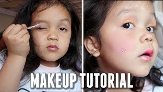 The Most Stressful Makeup Tutorial Ever - itsjudyslife