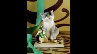 Кошки статуэтки. Очень красивые и уютные (Cat figurines. Very nice and cozy)