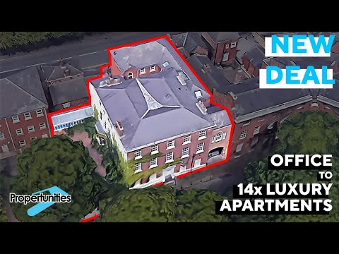 Commercial to Residential Conversion - Grade II Listed Building - 14 Apartments - Propertunities