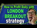Forex London Breakout Strategy with 3EMA ... - YouTube