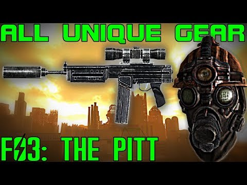 Fallout 3: The Pitt - Unique Armor & Weapons Guide (DLC)