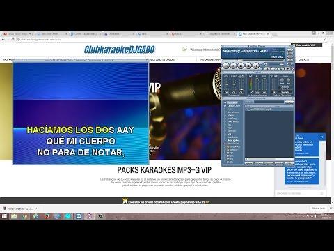 como descargar Karaokes Nuevos 2017 - Vicky Corbacho - Que bonito Karaoke Pro