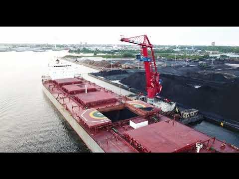 Floating crane Nijlpaard   OBA Amsterdam