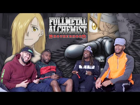 "Al's Body! Full Metal Alchemist Brotherhood Episode 26 ""Reunion"" REACTION/REVIEW"