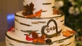 Осенние свадебные торты: стиль и украшение [фото-подборка]