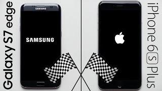 Galaxy S7 Edge vs. iPhone 6S Plus Speed Test