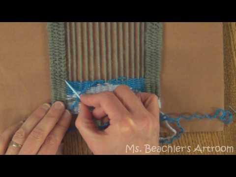 Fiber Art   Weaving Part 2