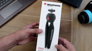 Manfrotto Pixi Mini Tripod - Unboxing and review