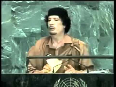 Speech of Muammar Al Gaddafi at the United Nations, New York -Translation by Libyan State TV -Eng