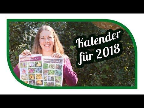 Gartenkalender 2018 📆 Aussaatkalender Für Gemüse 🍆 Und Essbare Blüten 🌼 Kalender 2018
