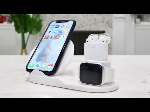 PeepCase 3 In 1 Fast Wireless Charging Station REVIEW - For IPhone, AirPods, And Apple Watch