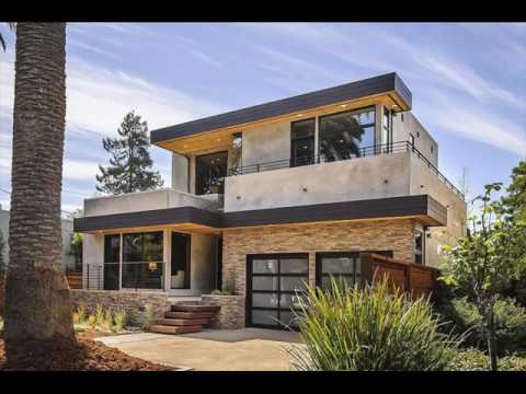Flat Roof House Exterior Design UK