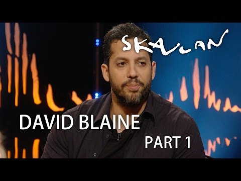 David Blaine - Interview and magic | Skavlan |