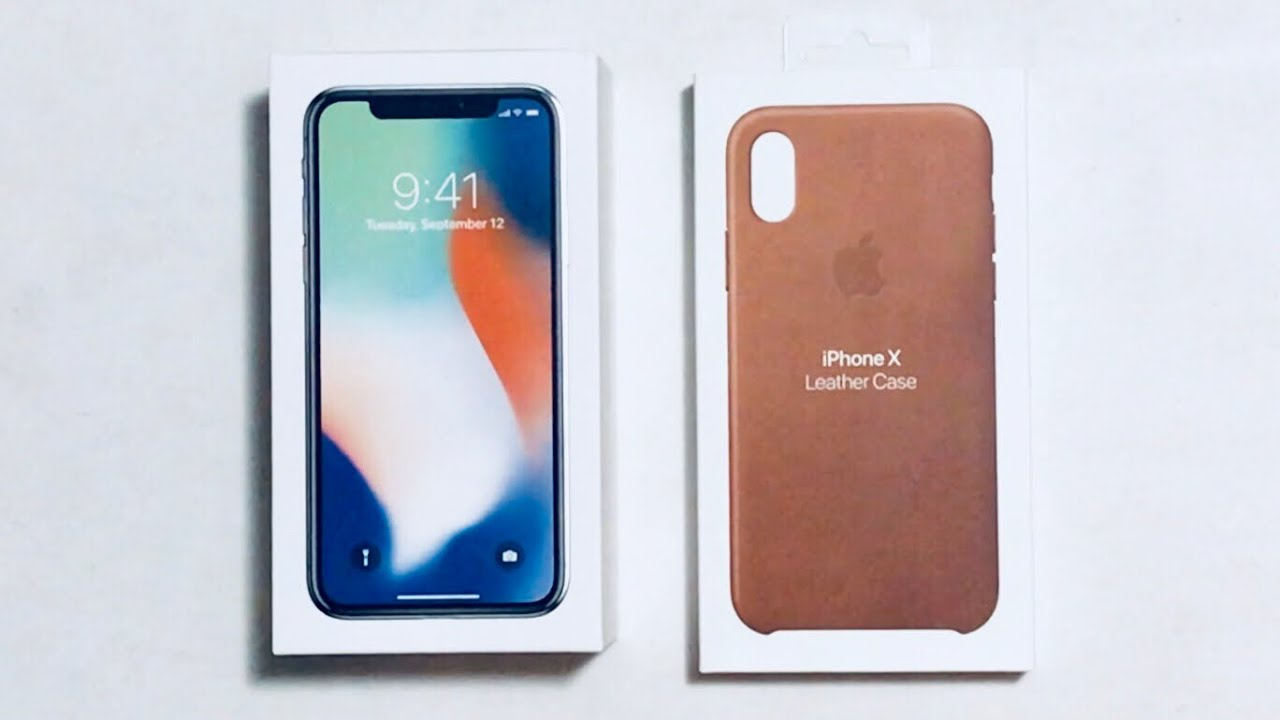 apple leather iphone case apple iphone x leather saddle brown unboxing 6849