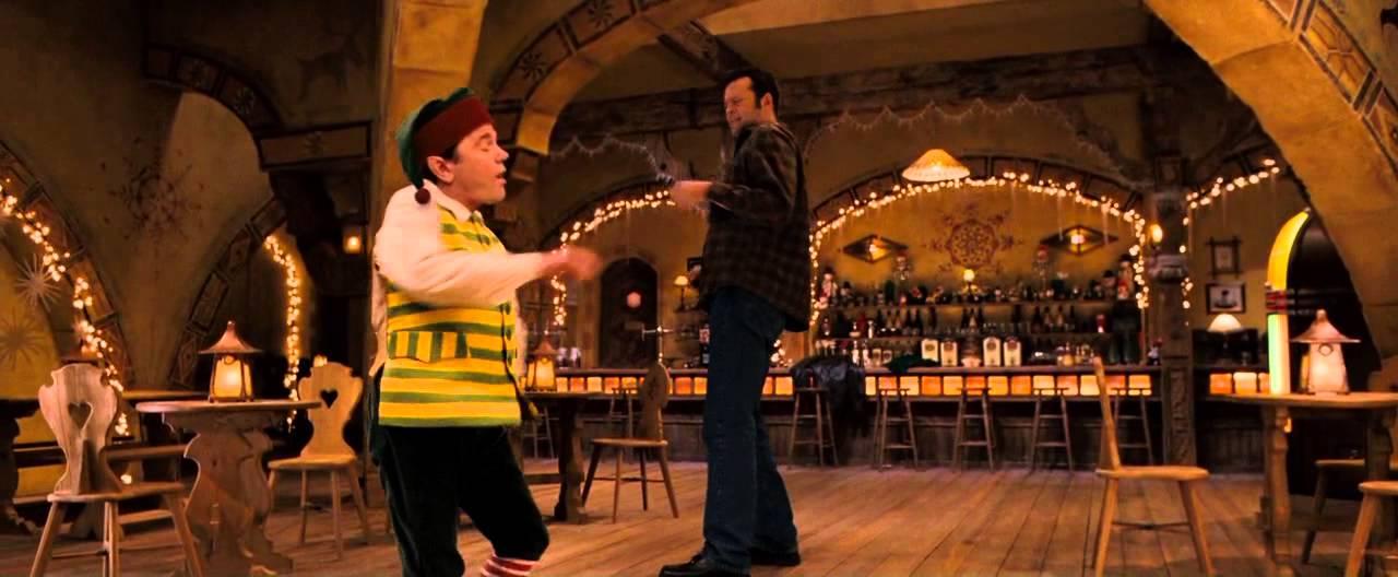 fred claus bar dance scene youtube
