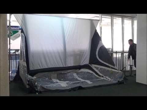 Kampa Fiesta Air Pro 350 Demonstration Camping