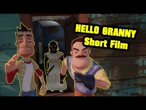HELLO GRANNY Short film | Hello Neighbor Mod thumbnail