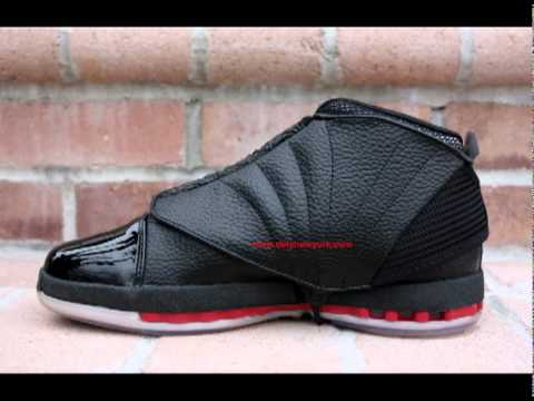 9f981330bbed Nike Air Jordan XVI Retro 2008 Review - YouTube