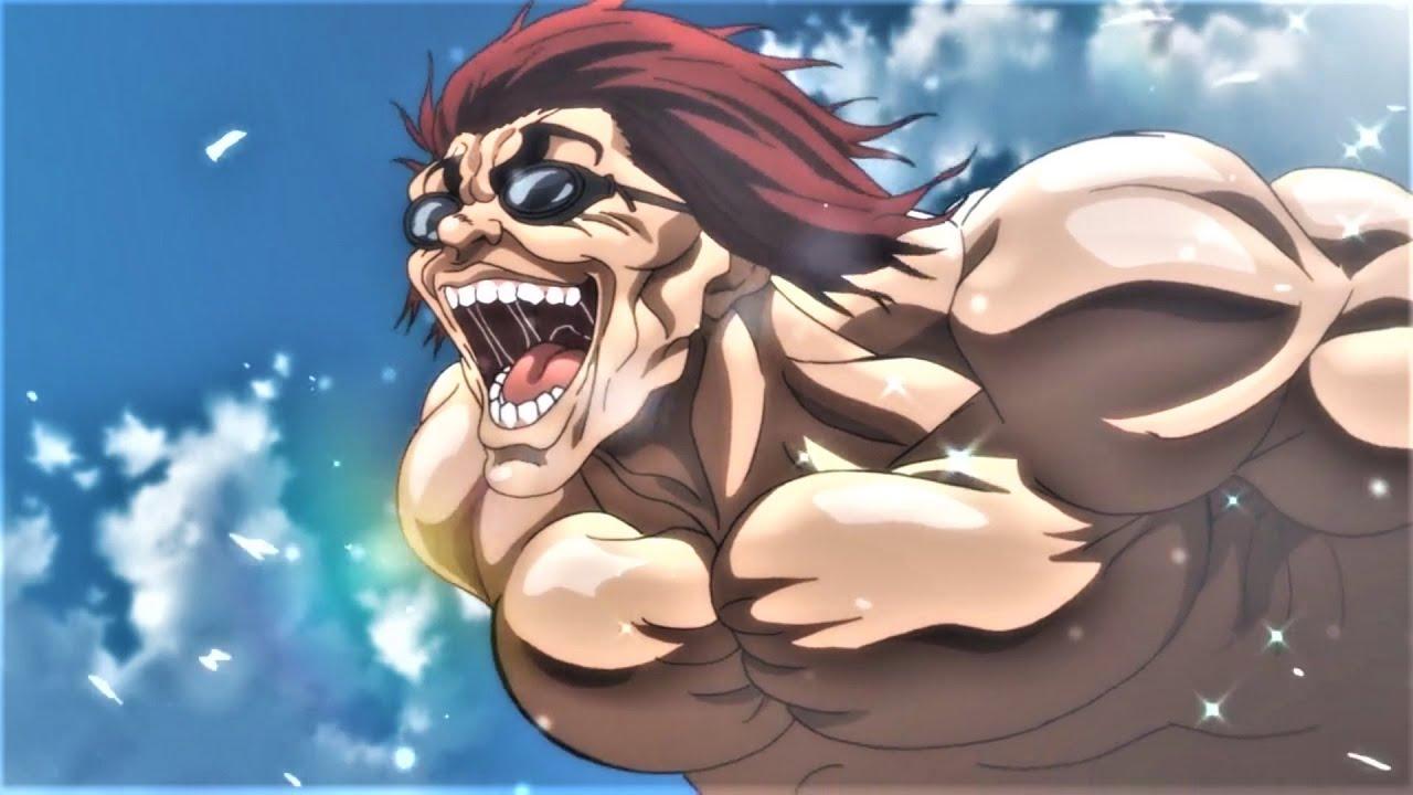 Yujiro Swims in a 20Km/h Pool on Vacation Scene ||  Hanma Baki: Son of Ogre Episode 3 English Sub