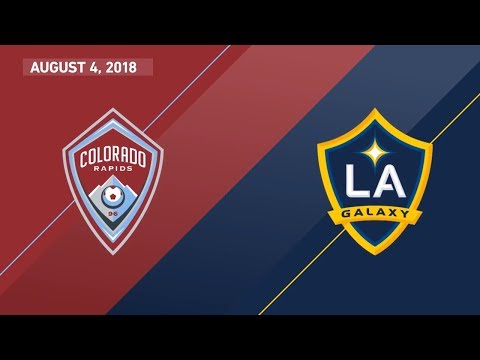 HIGHLIGHTS: Colorado Rapids vs. LA Galaxy | August 4, 2018