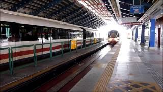 (HD) Kuala Lumpur LRT (Kelana Jaya Line), Taman Jaya Station, 27/01/13.