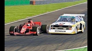 Ferrari F1 2018 vs Audi Sport Quattro S1 - Monza
