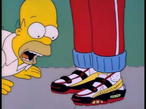 The Simpsons Assassin Shoes