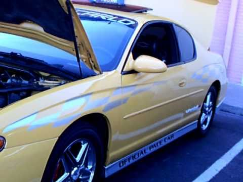 Old Chevy Cars >> 2001 and 2002 Chevy Monte Carlo SS Pace Cars - YouTube