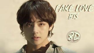 BTS - FAKE LOVE   8D (USE HEADPHONE) Resimi