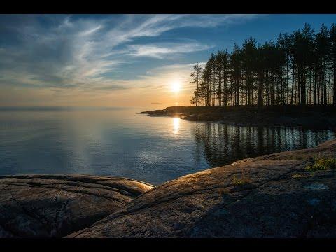 [РВ] Карелия, Онежское озеро, петроглифы (мыс Бесов нос и Пери нос)