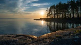 видео Отдых на Онежском озере