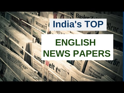 Best English Newspapers In India 2020 | Top News Papers
