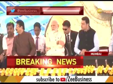 PM Modi attends ground-breaking ceremony of Navi Mumbai international airport