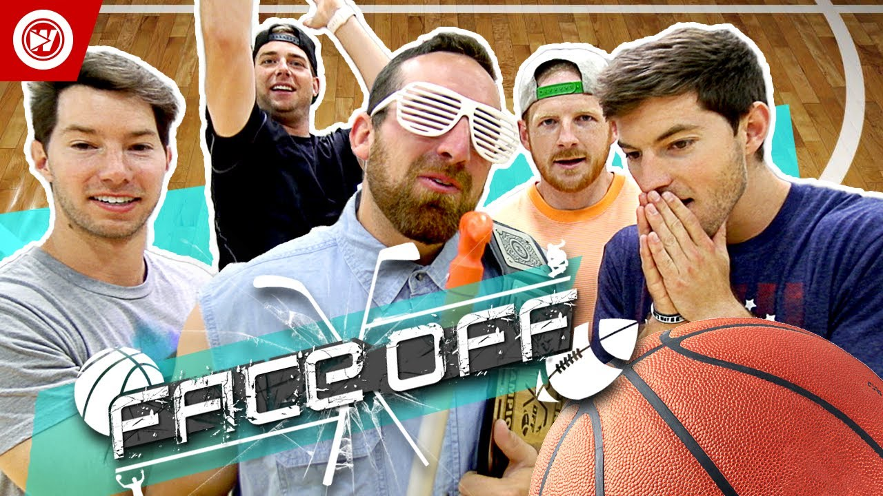 Download Dude Perfect Basketball Shootout   FACE OFF