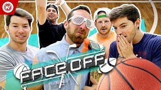 Dude Perfect Basketball Shootout | FACE OFF thumbnail