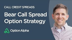 Bear Call Spread Option Strategy - Call Credit Spreads