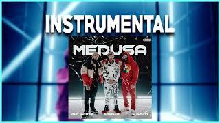 Jhay Cortez, Anuel AA, J. Balvin - Medusa (Instrumental) | By Ghobia