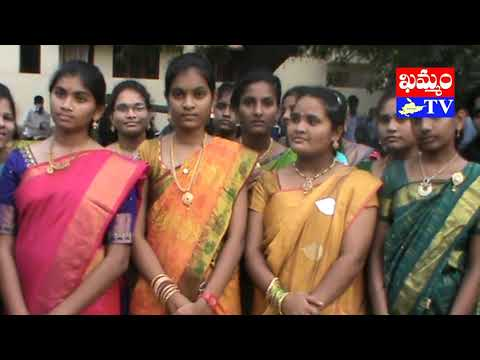 khammam tv : children's day celebrations in khammam new world high school