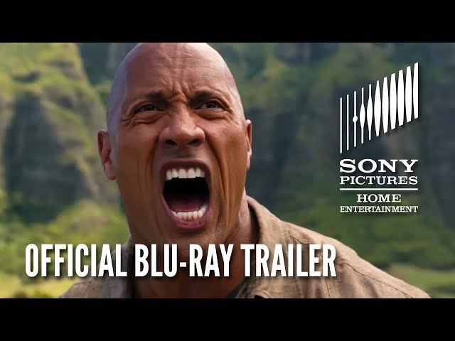 JUMANJI: WELCOME TO THE JUNGLE - Official Blu-ray and Digital Trailer HD (2017)