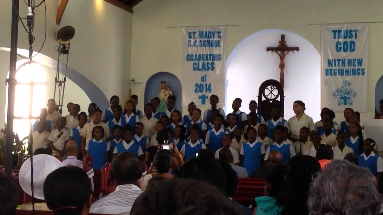 St. Mary's RC School in St. Vincent and the grenadines ...