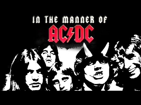 Royalty Free AC DC Music  ACDC  Instrumental Untitled AC DC STYLE OF MUSIC rehearsal