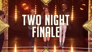 Two Night Season Finale of The X Factor UK!