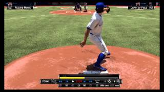 Dickey knuckleball....The realism is CRAZY!!