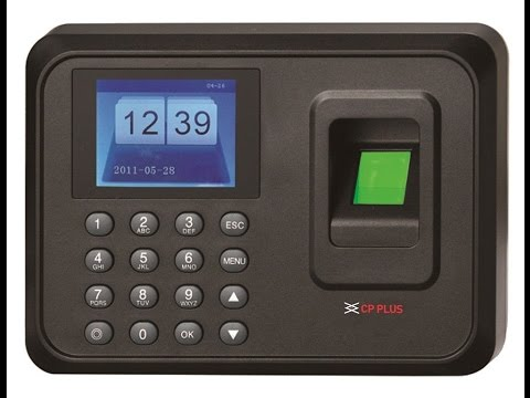 CP Plus Biometric Attendance System Installation