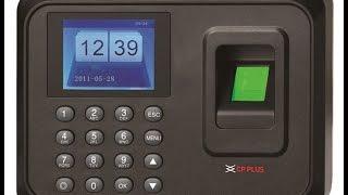 CP Plus Biometric Attendance System Installation