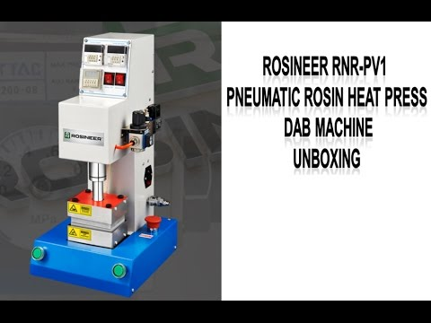 Rosineer RNR PV1 Pneumatic Rosin Heat Press Dab Machine Unboxing